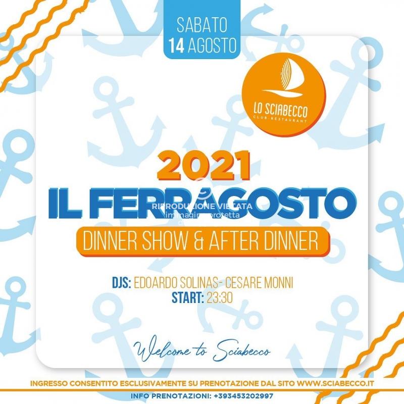 Img Web Ferragosto 2021 Cena Spettacolo Sciabecco Villasimius