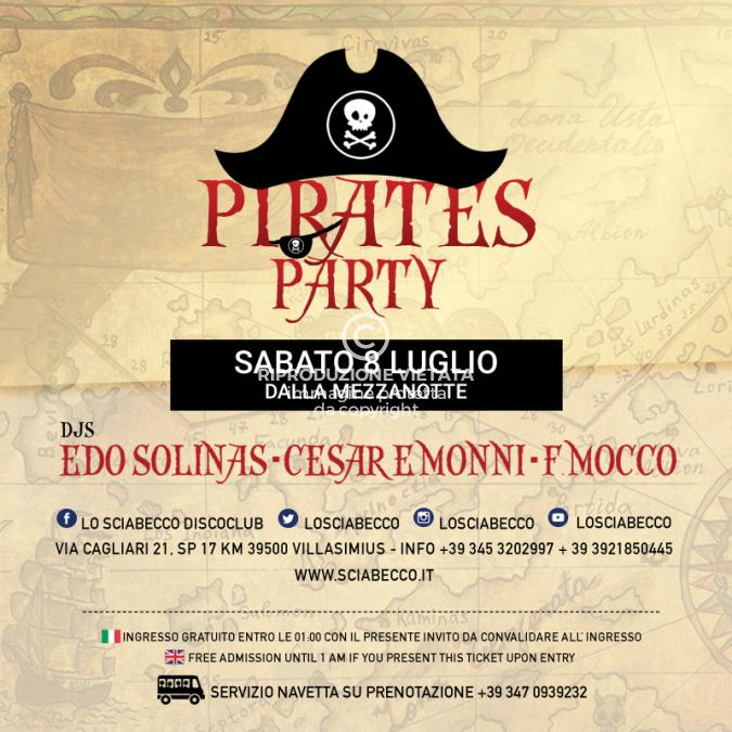 Img Web Il Sabato Pirates Party 8 Luglio 2017