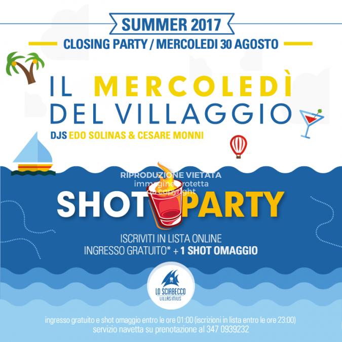 Post Il Mercoledi Closing 2017