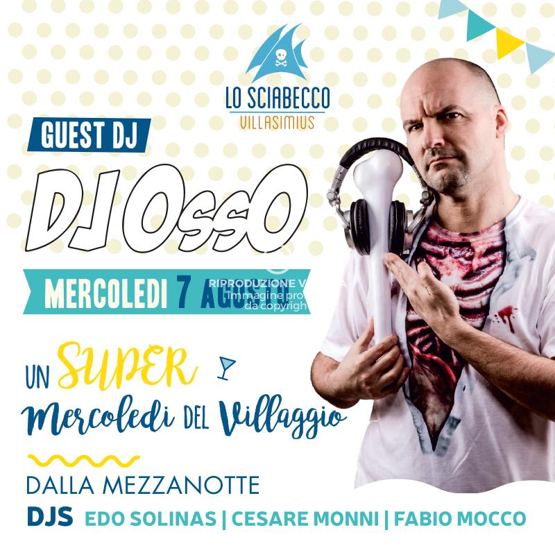 Post Il Mercoledi Guest Dj Osso Sciabecco Villasimius