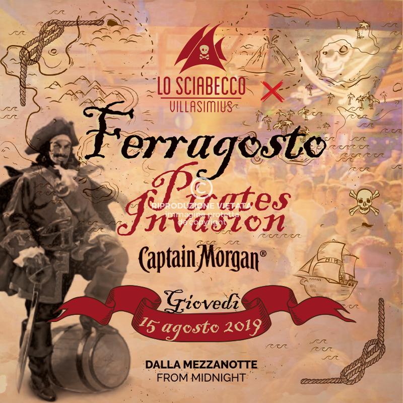 Post Sciabecco 15 Agosto 2019 Pirates Invasion